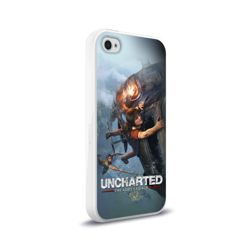 Чехол для Apple iPhone 4/4S силиконовый глянцевый  Фото 02, Uncharted