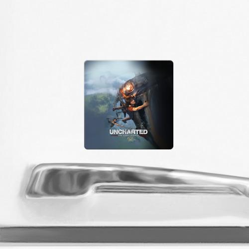 Магнит виниловый Квадрат  Фото 02, Uncharted