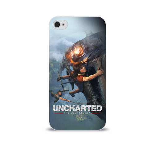 Чехол для Apple iPhone 4/4S soft-touch  Фото 01, Uncharted