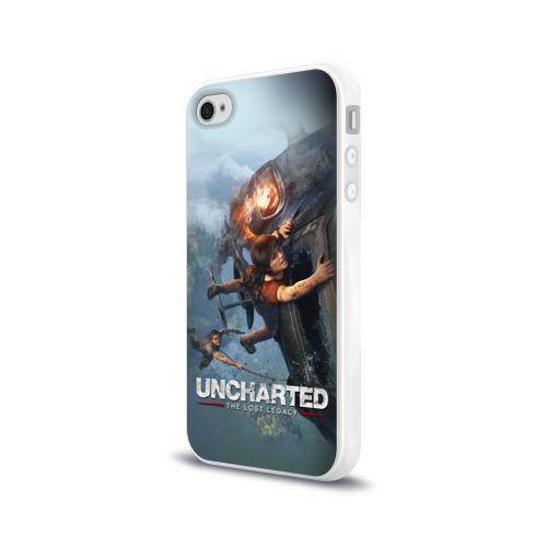 Чехол для Apple iPhone 4/4S силиконовый глянцевый  Фото 03, Uncharted