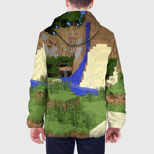 Мужская куртка 3D  Фото 05, Стив и эндермен.