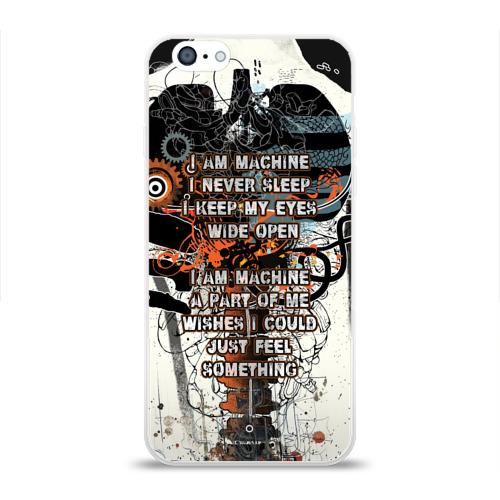 Чехол для Apple iPhone 6 силиконовый глянцевый  Фото 01, I am machine