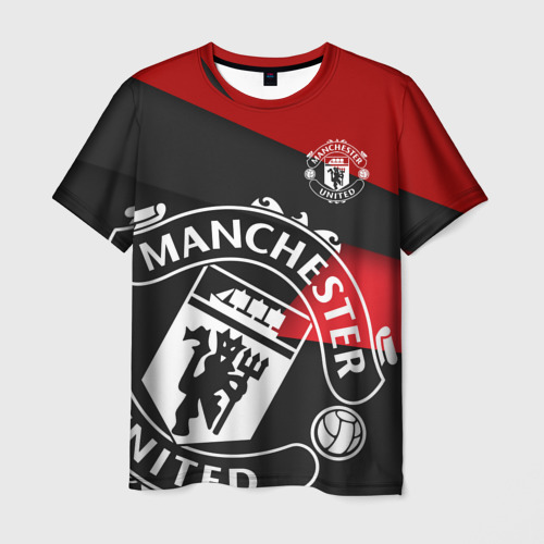 Мужская футболка 3D Манчестер новый