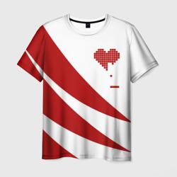 Сердца красное