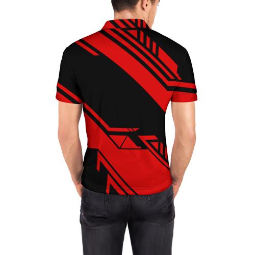 Мужская рубашка поло 3D  Фото 04, HONDA SPORT
