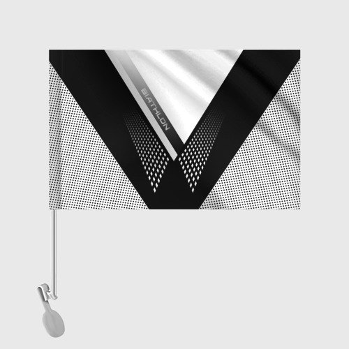 Флаг для автомобиля Биатлон Фото 01