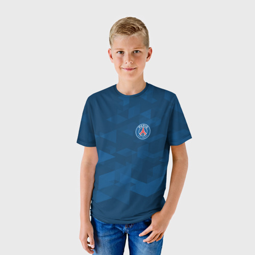 Детская футболка 3D PSG SPORT