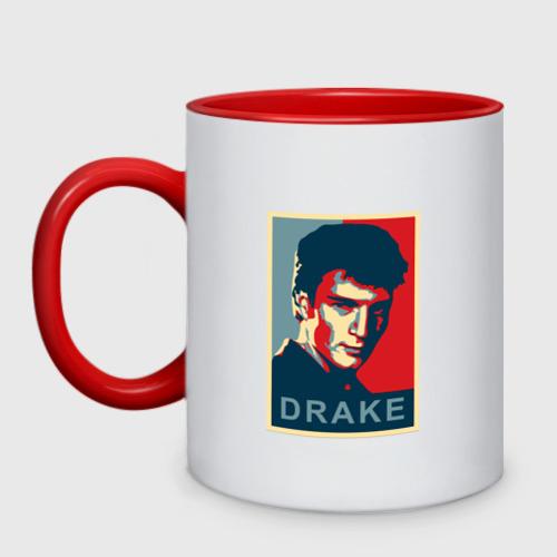 Кружка двухцветная Drake