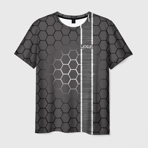 Мужская футболка 3D Lexus Фото 01