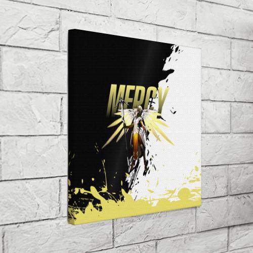Холст квадратный  Фото 03, Overwatch Mercy