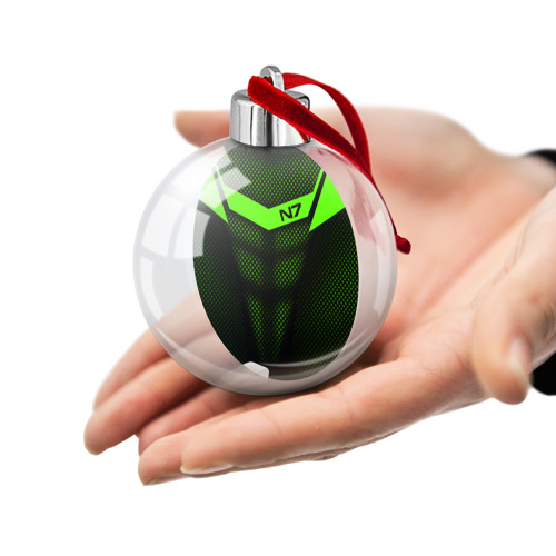 Ёлочный шар Mass Effect N7 Фото 01