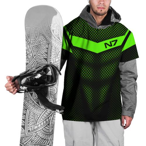 Накидка на куртку 3D Mass Effect N7 Фото 01