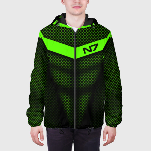 Мужская куртка 3D Mass Effect N7 Фото 01