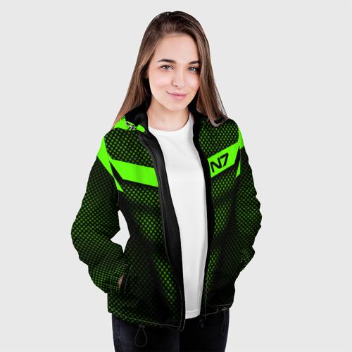 Женская куртка 3D Mass Effect N7 Фото 01