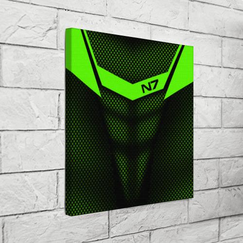 Холст квадратный Mass Effect N7 Фото 01