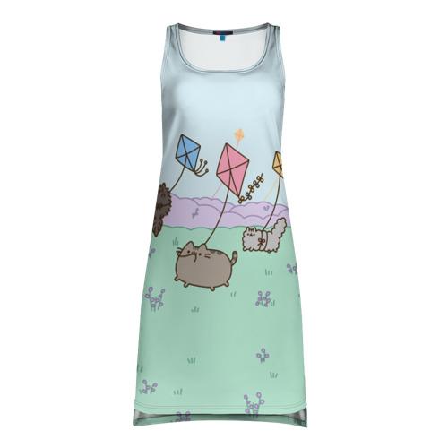 Платье-майка 3D Pusheen Summertime