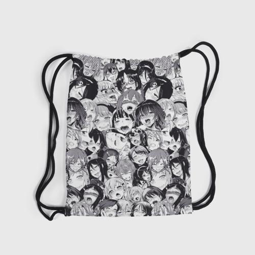 Рюкзак-мешок 3D Ахегао Фото 01