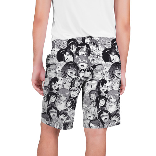 Мужские шорты 3D  Фото 02, Ахегао