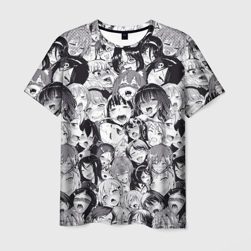 Мужская футболка 3D  Фото 03, Ахегао