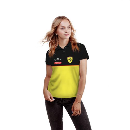 Женская рубашка поло 3D Ferrari Фото 01