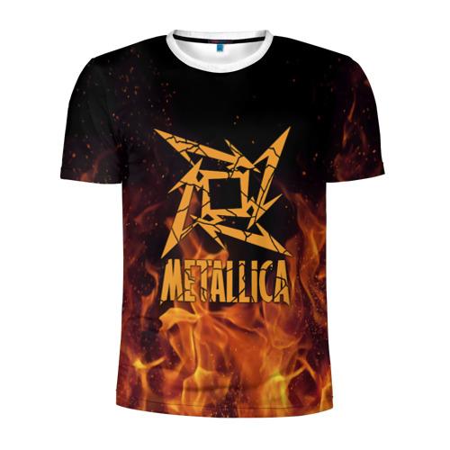 Мужская футболка 3D спортивная  Фото 01, Metallica