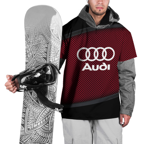 Накидка на куртку 3D  Фото 01, AUDI SPORT