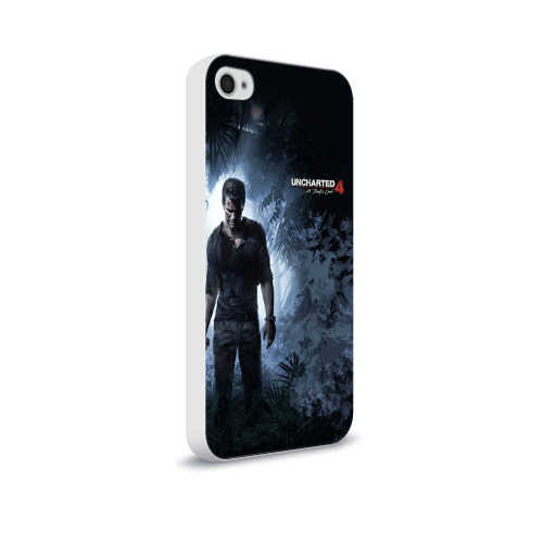 Чехол для Apple iPhone 4/4S soft-touch  Фото 02, Drake in jungle