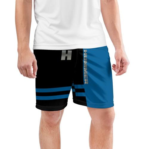 Мужские шорты 3D спортивные  Фото 03, Hummer