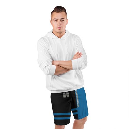 Мужские шорты 3D спортивные  Фото 05, Hummer