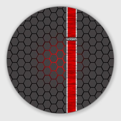 Коврик круглый  Фото 01, Nissan