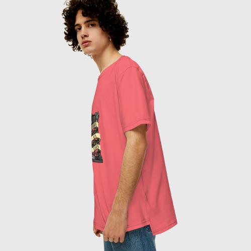 Мужская футболка хлопок Oversize Bloodborne Фото 01