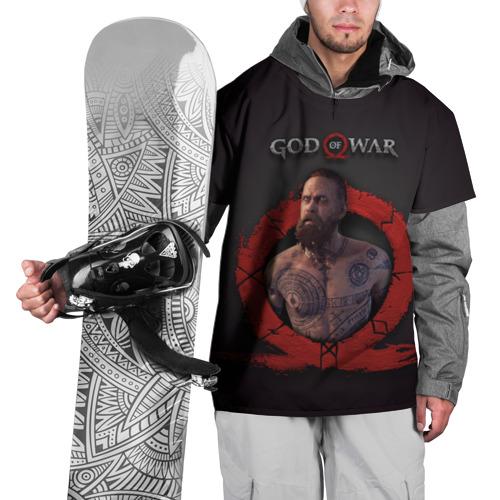 Накидка на куртку 3D Бальдур