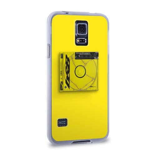 Чехол для Samsung Galaxy S5 силиконовый  Фото 02, Post Malone - b&B
