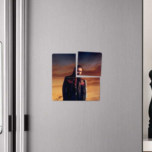 Магнитный плакат 2Х2  Фото 04, Post Malone