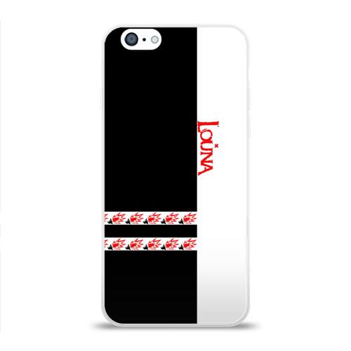 Чехол для Apple iPhone 6 силиконовый глянцевый Louna Фото 01