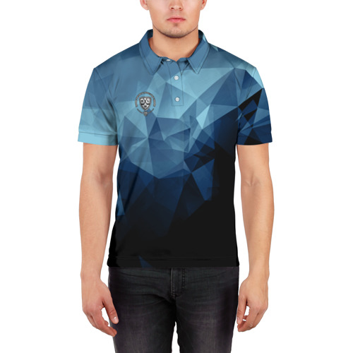 Мужская рубашка поло 3D  Фото 03, КХЛ