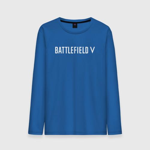 Мужской лонгслив хлопок  Фото 01, Battlefield 5