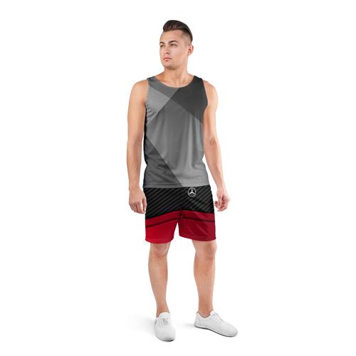 Мужские шорты 3D спортивные  Фото 04, MERCEDES BENZ