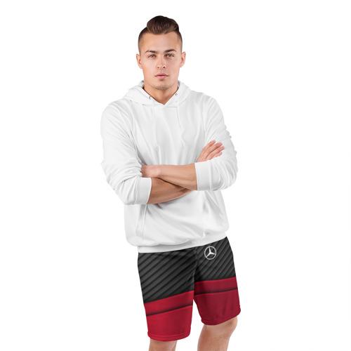 Мужские шорты 3D спортивные  Фото 05, MERCEDES BENZ