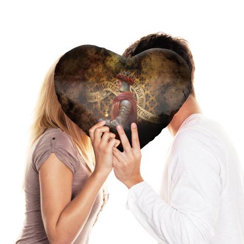 Подушка 3D сердце  Фото 03, Charles IV