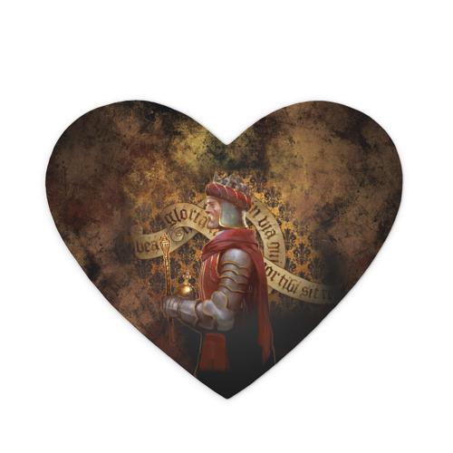 Коврик для мыши сердце  Фото 01, Charles IV