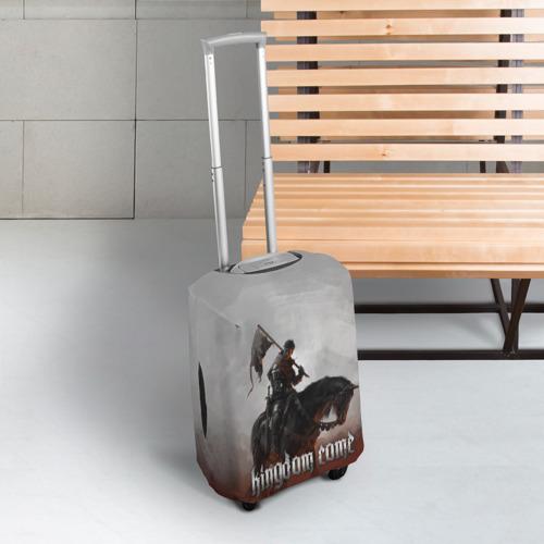 Чехол для чемодана 3D Рыцарь на коне Фото 01