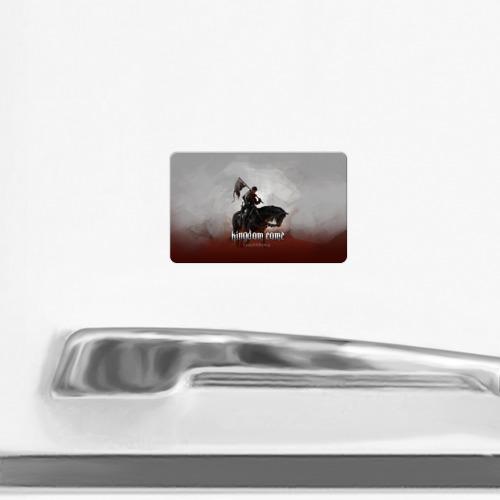 Магнит виниловый Visa  Фото 02, Рыцарь на коне