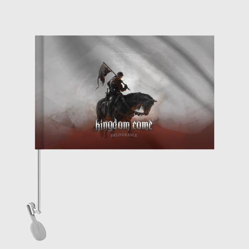 Флаг для автомобиля Рыцарь на коне Фото 01