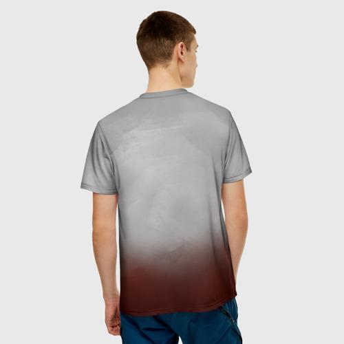 Мужская футболка 3D  Фото 02, Рыцарь на коне