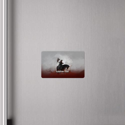 Магнит виниловый Visa  Фото 04, Рыцарь на коне