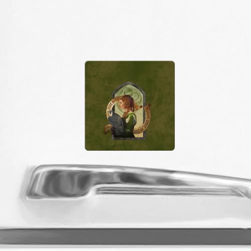 Магнит виниловый Квадрат  Фото 02, Lady Stephanie