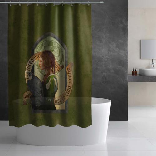 Штора 3D для ванной  Фото 03, Lady Stephanie