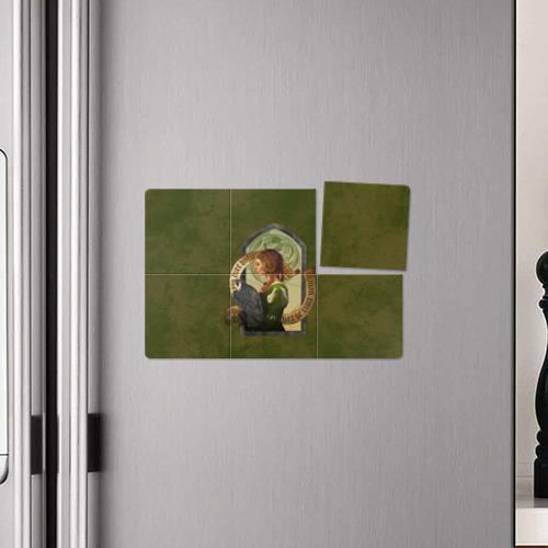 Магнитный плакат 3Х2  Фото 04, Lady Stephanie