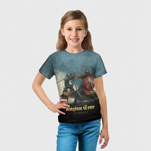 Детская футболка 3D  Фото 03, Kingdom fight